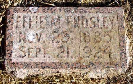 ENDSLEY, EFFIE M. - Dundy County, Nebraska | EFFIE M. ENDSLEY - Nebraska Gravestone Photos