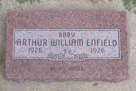 ENFIELD, ARTHUR WILLIAM - Dundy County, Nebraska | ARTHUR WILLIAM ENFIELD - Nebraska Gravestone Photos