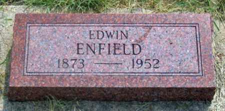 ENFIELD, EDWIN - Dundy County, Nebraska | EDWIN ENFIELD - Nebraska Gravestone Photos