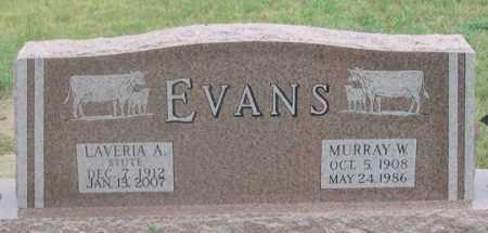 STUTE EVANS, LAVERIA A. - Dundy County, Nebraska | LAVERIA A. STUTE EVANS - Nebraska Gravestone Photos