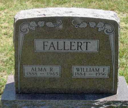 FALLERT, WILLIAM F. - Dundy County, Nebraska | WILLIAM F. FALLERT - Nebraska Gravestone Photos