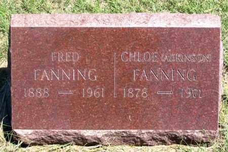 ADKINSON FANNING, CHLOE - Dundy County, Nebraska | CHLOE ADKINSON FANNING - Nebraska Gravestone Photos