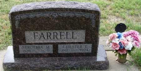 FARRELL, BERDENNA M. - Dundy County, Nebraska | BERDENNA M. FARRELL - Nebraska Gravestone Photos
