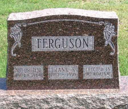 FERGUSON, FRANK S. - Dundy County, Nebraska | FRANK S. FERGUSON - Nebraska Gravestone Photos