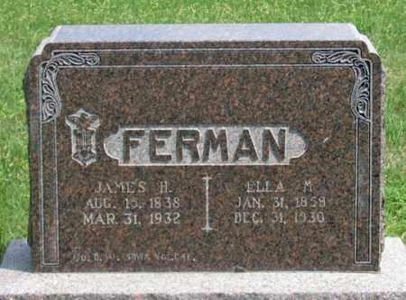 POSEY FERMAN, ELLA M. - Dundy County, Nebraska | ELLA M. POSEY FERMAN - Nebraska Gravestone Photos