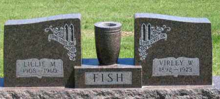 FISH, LILLIE M. - Dundy County, Nebraska   LILLIE M. FISH - Nebraska Gravestone Photos