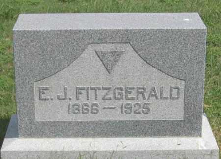 FITZGERALD, EDWARD J. - Dundy County, Nebraska   EDWARD J. FITZGERALD - Nebraska Gravestone Photos