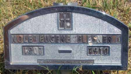 FLEENER, NOLE EUGENE - Dundy County, Nebraska | NOLE EUGENE FLEENER - Nebraska Gravestone Photos