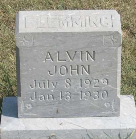 FLEMMING, ALVIN JOHN - Dundy County, Nebraska   ALVIN JOHN FLEMMING - Nebraska Gravestone Photos