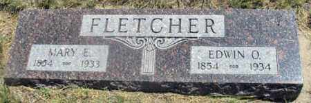 FLETCHER, EDWIN O. - Dundy County, Nebraska | EDWIN O. FLETCHER - Nebraska Gravestone Photos