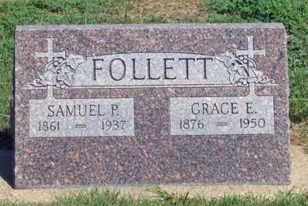 BEEMAN FOLLETT, GRACE E. - Dundy County, Nebraska | GRACE E. BEEMAN FOLLETT - Nebraska Gravestone Photos
