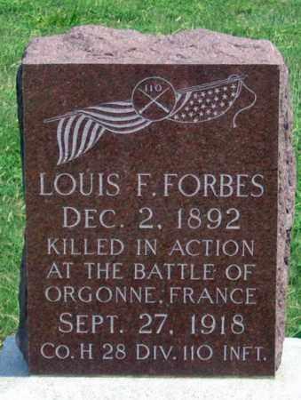 FORBES, LOUIS F. - Dundy County, Nebraska   LOUIS F. FORBES - Nebraska Gravestone Photos