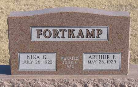 FORTKAMP, NINA G. - Dundy County, Nebraska   NINA G. FORTKAMP - Nebraska Gravestone Photos