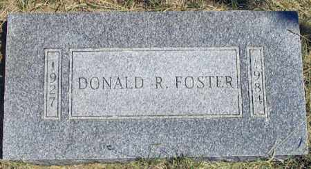 FOSTER, DONALD R. - Dundy County, Nebraska | DONALD R. FOSTER - Nebraska Gravestone Photos