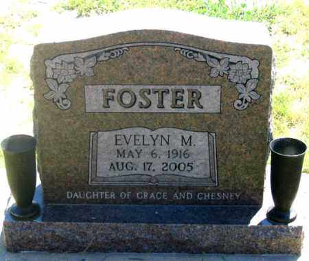 FOSTER, EVELYN M. - Dundy County, Nebraska | EVELYN M. FOSTER - Nebraska Gravestone Photos