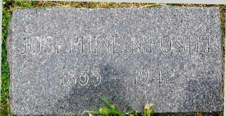 FOSTER, JOSEPHINE NAOMI - Dundy County, Nebraska | JOSEPHINE NAOMI FOSTER - Nebraska Gravestone Photos