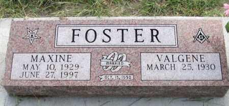 FOSTER, VALGENE - Dundy County, Nebraska | VALGENE FOSTER - Nebraska Gravestone Photos