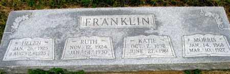 FRANKLIN, MORRIS - Dundy County, Nebraska | MORRIS FRANKLIN - Nebraska Gravestone Photos