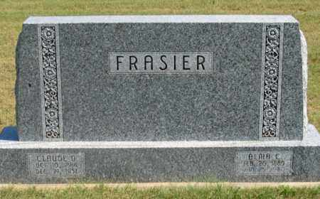 FRASIER, CLAUDE O. - Dundy County, Nebraska | CLAUDE O. FRASIER - Nebraska Gravestone Photos