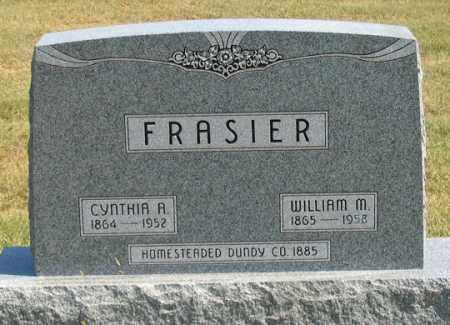 FRASIER, CYNTHIA A. - Dundy County, Nebraska | CYNTHIA A. FRASIER - Nebraska Gravestone Photos