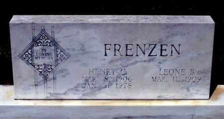 FRENZEN, HENRY C. - Dundy County, Nebraska | HENRY C. FRENZEN - Nebraska Gravestone Photos