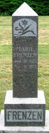 FRENZEN, MARIE - Dundy County, Nebraska | MARIE FRENZEN - Nebraska Gravestone Photos