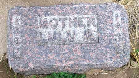 SWAIN FRIES, LULU MAE - Dundy County, Nebraska   LULU MAE SWAIN FRIES - Nebraska Gravestone Photos