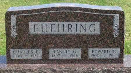 FUEHRING, FANNIE G. - Dundy County, Nebraska | FANNIE G. FUEHRING - Nebraska Gravestone Photos