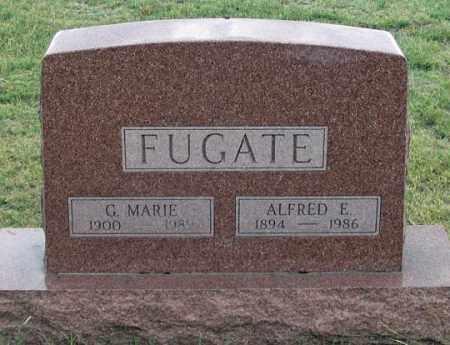 FUGATE, ALFRED E. - Dundy County, Nebraska | ALFRED E. FUGATE - Nebraska Gravestone Photos