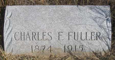 FULLER, CHARLES F. - Dundy County, Nebraska | CHARLES F. FULLER - Nebraska Gravestone Photos
