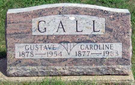 STUTE GALL, CAROLINE - Dundy County, Nebraska   CAROLINE STUTE GALL - Nebraska Gravestone Photos