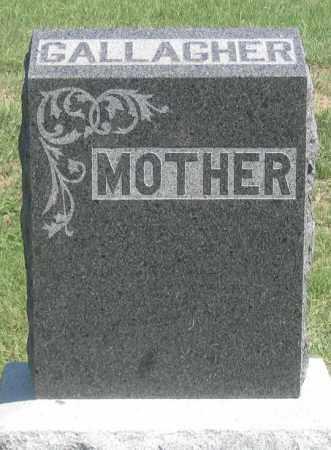 GALLAGHER, MARY A. - Dundy County, Nebraska | MARY A. GALLAGHER - Nebraska Gravestone Photos