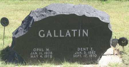 MAXWELL GALLATIN, OPAL M. - Dundy County, Nebraska | OPAL M. MAXWELL GALLATIN - Nebraska Gravestone Photos