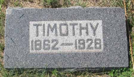 GALVIN, TIMOTHY - Dundy County, Nebraska | TIMOTHY GALVIN - Nebraska Gravestone Photos