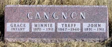 GANGNON, MINNIE - Dundy County, Nebraska   MINNIE GANGNON - Nebraska Gravestone Photos