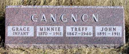 GANGNON, GRACE - Dundy County, Nebraska | GRACE GANGNON - Nebraska Gravestone Photos
