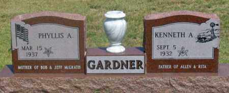 GARDNER, PHYLLIS A. - Dundy County, Nebraska | PHYLLIS A. GARDNER - Nebraska Gravestone Photos