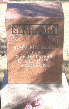 GEARHART, MARGUERITE - Dundy County, Nebraska | MARGUERITE GEARHART - Nebraska Gravestone Photos
