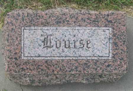TALMON GERDES, LOUISE - Dundy County, Nebraska | LOUISE TALMON GERDES - Nebraska Gravestone Photos