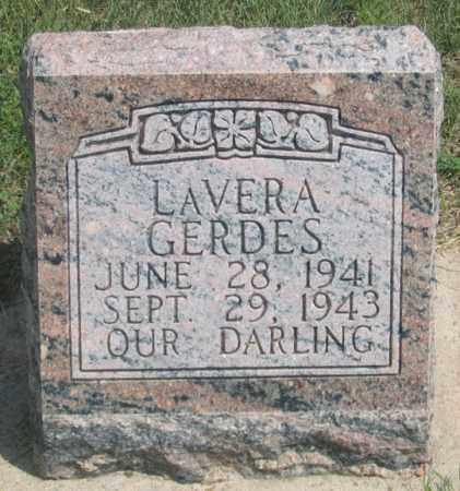 GERDES, LAVERA DARLENE - Dundy County, Nebraska   LAVERA DARLENE GERDES - Nebraska Gravestone Photos