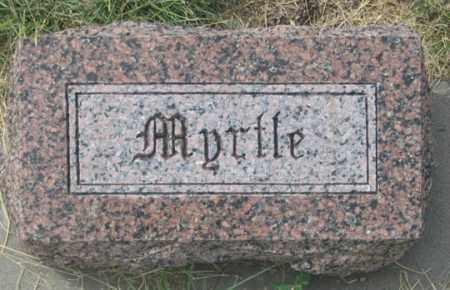 MYERS GERDES, MYRTLE - Dundy County, Nebraska | MYRTLE MYERS GERDES - Nebraska Gravestone Photos