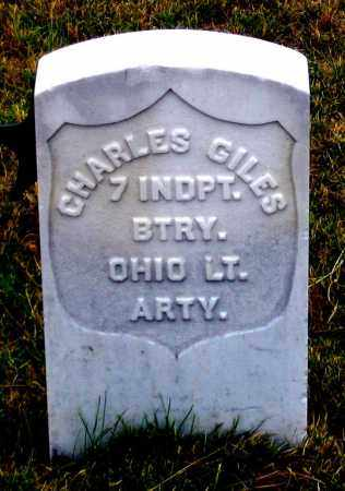 GILES, CHARLES - Dundy County, Nebraska   CHARLES GILES - Nebraska Gravestone Photos