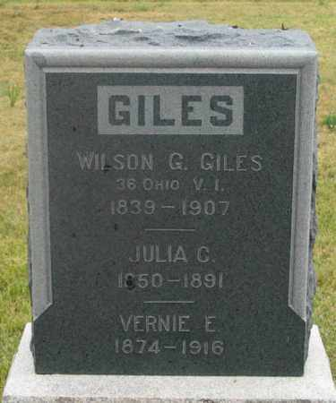 GILES, JULIA C. - Dundy County, Nebraska | JULIA C. GILES - Nebraska Gravestone Photos
