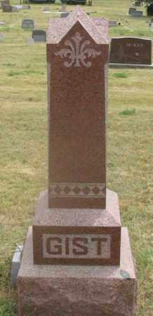 GIST FAMILY, HEADSTONE - Dundy County, Nebraska | HEADSTONE GIST FAMILY - Nebraska Gravestone Photos