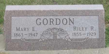 GORDON, RILEY ROBERT - Dundy County, Nebraska | RILEY ROBERT GORDON - Nebraska Gravestone Photos