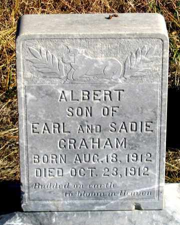 GRAHAM, ALBERT - Dundy County, Nebraska | ALBERT GRAHAM - Nebraska Gravestone Photos
