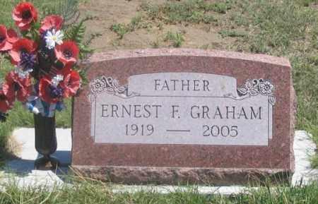 GRAHAM, ERNEST F. - Dundy County, Nebraska | ERNEST F. GRAHAM - Nebraska Gravestone Photos