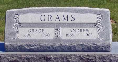 LITTLE GRAMS, GRACE - Dundy County, Nebraska   GRACE LITTLE GRAMS - Nebraska Gravestone Photos
