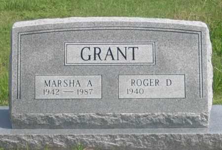 GRANT, MARSHA A. - Dundy County, Nebraska | MARSHA A. GRANT - Nebraska Gravestone Photos