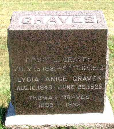 GRAVES, PERCIVAL JUDSON - Dundy County, Nebraska | PERCIVAL JUDSON GRAVES - Nebraska Gravestone Photos